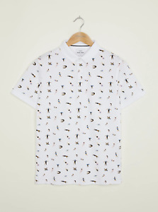 Peter Werth New Mens Quirke Polo - White