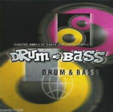 United World of Dance: Drum & Bass by Various Artists (CD, Sep-2000, DM Records)