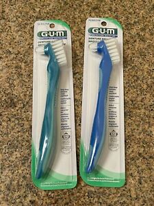 Butler Gum Denture Brush #201( Pack of 2 )