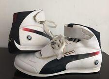 Puma Evo Speed Mid Bmw Motorsport Men Sneaker Size 10US/ 43EUR. White