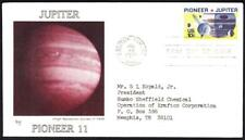 PIONEER 11 MISSION TO JUPITER Space Stamp 1556 Marg First Day Cover (8586y)
