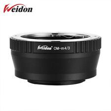 Weidon OM-M4/3 Adapter Ring Olympus OM Lens to Micro 4/3 Body GX1 G5 GF5 GH4