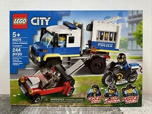 LEGO City 60276 Police Prisoner Transport 244 Pieces NEW + Free Shipping