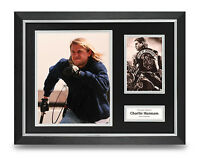 Charlie Hunnam Signed Photo Framed 16x12 Display Sons Of Anarchy Autograph COA