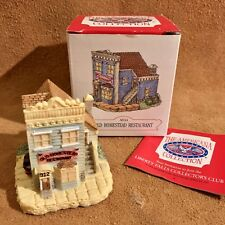 1994 Liberty Falls Collectible Ah44 Old Homestead Restaurant The Americana Colle