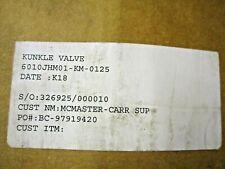 "NEW KUNKLE 6010JHM1-KM-0125 BRONZE SAFETY RELIEF VALVE SIZE 2""X2-1/2"""