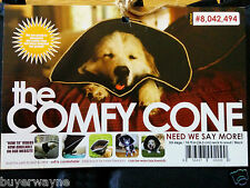 The Comfy Cone XX-Large 36.5cm in Australia BLACK Elizabethan e-Collar for DOG