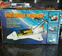 Vintage Space Shuttle Enterprise NASA Battery Op Toy Mint Box 1980s Hong Kong