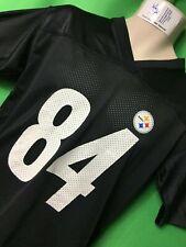 J499/180 NFL Pittsburgh Steelers Antonio Brown#84 Reebok Jersey Youth Large14-16