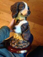Unique Precious Collection English Springer Spaniel Dog Figurine & Free Shipping