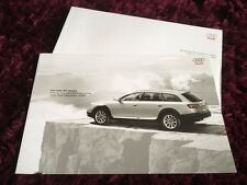 Audi A6 allroad Brochure 2009 - Dec 2008 issue