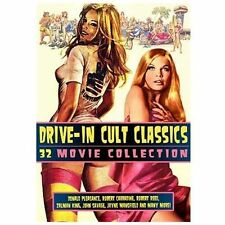 Drive-In Cult Classics: 32 Movie Collection (12-DVD) NEW NEVER OPENED