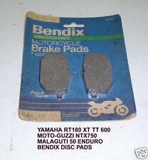 YAMAHA RT180 TT600 XT600 MG 750 DISC BRAKE PADS BENDIX MA96