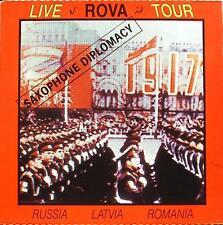 Rova Saxophone Diplomacy Live in Russia Latvia Romania Hat Hut CD