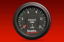 BANKS 1500° PYROMETER GAUGE w/ EXTENDED 55' LONG LEAD -TURBO DIESEL MOTORHOME RV