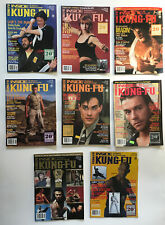 New listing Vintage Inside Kung Fu 20th.Anniversary Issues Lot of 8 1993 Karaté Taekwondo