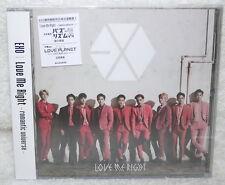 EXO Love Me Right romantic universe 2015 Taiwan CD only (Japanese Lan.)