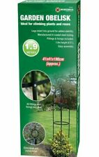 Garden Obelisk Climbing Plant Flowers Steel Frame Easy Assembly Grow Support