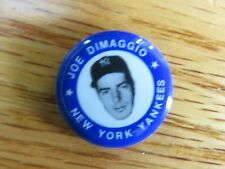 "JOE DIMAGGIO 1969 MLBPA 1"" Button / Pin NEW YORK YANKEES"