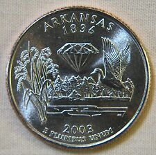 2003-D Uncirc. Arkansas Statehood Quarter - Single