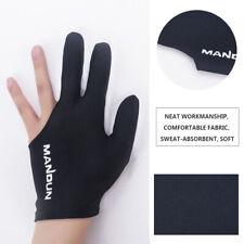 1pc Snooker Billiard Glove Embroidery Billard Three Finger Glove Accessories