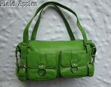 Barneys New York Handbag Bag Purse Leather Green Satchel NWT Cargo