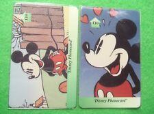 Disney Phone Cards UK Mickey