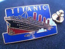 Pin's Folies ** Rare Enamel pin Badge Cinema Movie TITANIC