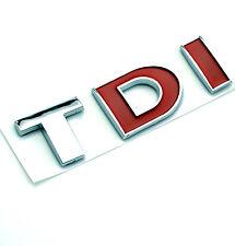 TDI Rear Car Emblem For VW Passat Tiguan Bora Golf MK3 Polo TDI Car Boot Badge