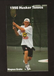 Nebraska Cornhuskers--1998 Tennis Pocket Schedule