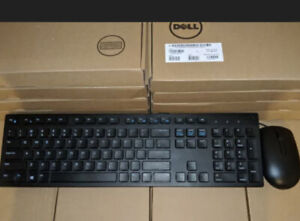 Dell Keyboard And Mouse Set (Wired USB, Multimedia With Optical Mouse) NIB NWT