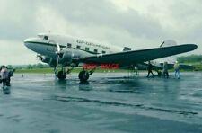 PHOTO  AEROPLANE - DOUGLAS C47 BOURNEMOUTH FOR D.DAY ANIVERSARY FLIGHTS 6