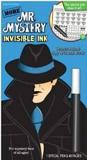 More Mr. Mystery by Yes & Know Line Up Secret Agent Spy Invisible Ink Game Book