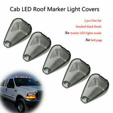 Cab Marker Roof Top Light Lens Covers Fit Ford F250 F-350 F-450 Super Duty 5PCS