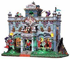 Lemax 15201 HORROR HIGH SCHOOL Spooky Town Building Animated Halloween Decor I