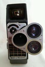 Vintage Bell & Howell Perpetua 8mm Electric Eye Movie Camera w/Triple Turret-BL