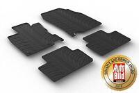 Design Passform Gummimatten Gummi Fußmatten für Renault Kadjar ab 2015>