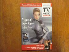 Aug-1997 Philadelphia Inquirer TV Maga(JERI RYAN/STAR TREK:VOYAGER/SEVEN OF NINE