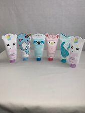 Set Of 6 Animal Hand Creams. Each Is 1 Fl. Oz.
