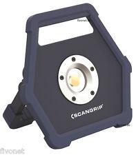 SCANGRIP MINI MAX COB LED Batteria Faretto proiettore luce lavoro con Powerbank