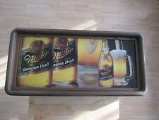 Vintage 1987 Miller Genuine Draft Lighted Sign Mancave Bar Billiard Room