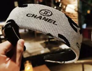 Chanel Design Fabric Headband