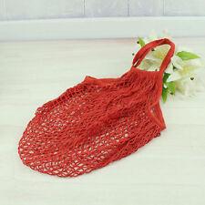 cool Reusable String Shopping Grocery Bag Shopper Tote Mesh Net Woven Cotton Bag