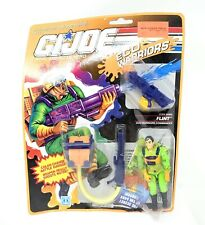 G.I. Joe Eco Warrior Flint Commander 1990 Vintage Hasbro New MOC (Curved Card)