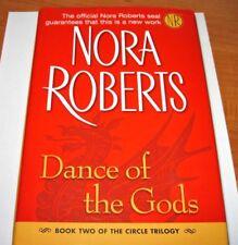 Nora Roberts Large Print Hardback Book Circle Trilogy Book 2 Dance of the Gods