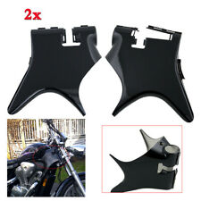 For Honda Shadow VT600 VLX 600 1988-2007 Frame Neck Cover Cowl Plastic Black 2x