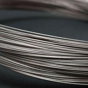 Pure Titanium Wire 999 Grade 1 Various Diameters