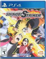 Naruto to Boruto: Shinobi Striker PS4 (Sony PlayStation 4) Brand New Sealed