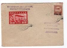 1930 Graf Zeppelin Flight Russia Moscow to Friedrichshafen