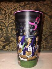 Dallas Cowboys Cheerleaders ATT Stadium Breast Cancer Awareness Plastic Cup 32oz